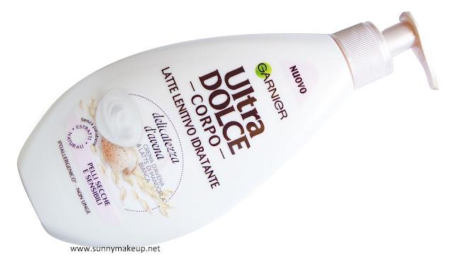 Garnier Ultra Dolce Corpo: Latte Corpo Lenitivo Idratante Delicatezza d'Avena.