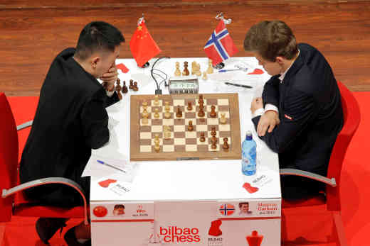 Bilbao: Carlsen se venge sur Wei Yi - Photo © site officiel