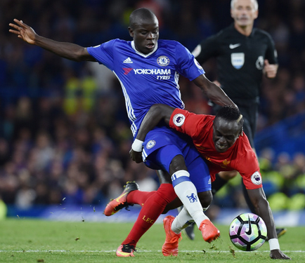 N'Golo Kanté in action