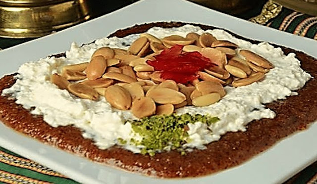 Healthiest Mafroukeh Dessert in a Serving Dish How to Make the Healthiest Mafroukeh Dessert Recipe