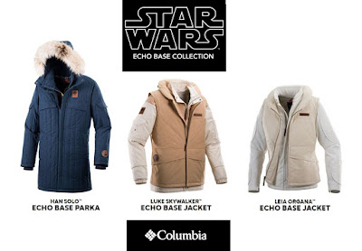 Star Wars: The Empire Strikes Back Limited Edition Echo Base Collection Jackets by Columbia