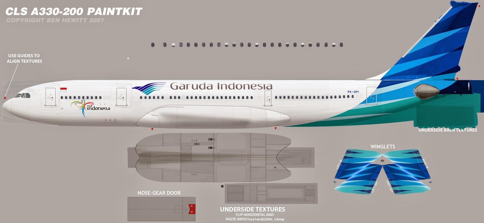 Fsx Cls A330 Livery - neondiamond