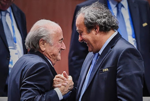 FIFA scandal engulfs Blatter and Platini