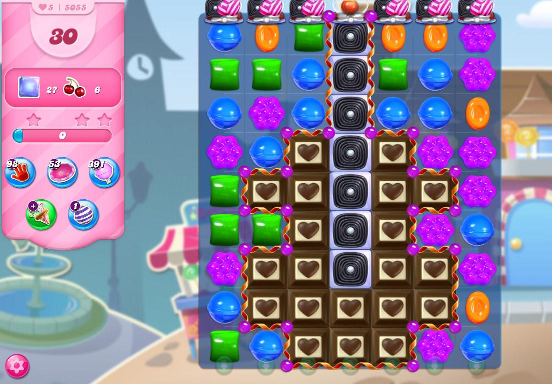 Candy Crush Saga level 5055