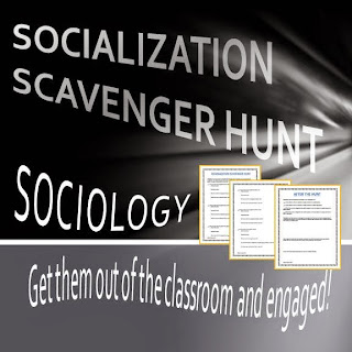 Socialization Scavenger Hunt