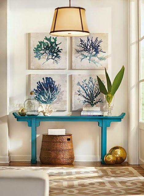 Ideas para decorar recibidores pequeños-20