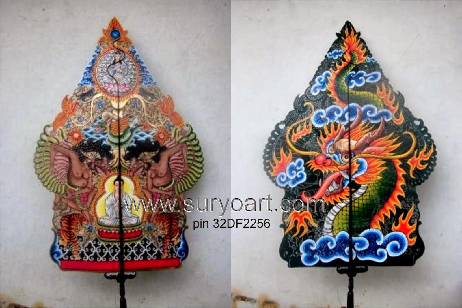 Download Sketsa Gambar Gunungan Wayang