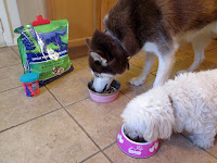 Mix #WildPursuit dry + canned dog food  #NaturalBalance #ad