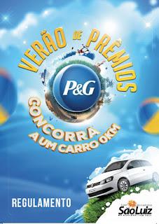Participar da promoção Verão de Prêmios P&G