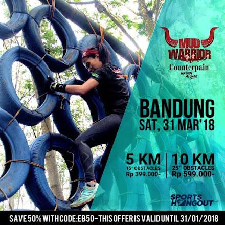 Bandung Mud Warrior 4 • 2018