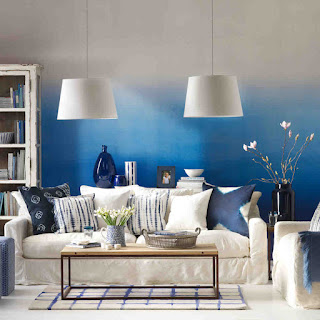 Simple Way To Decorate A Blue House By Yourself