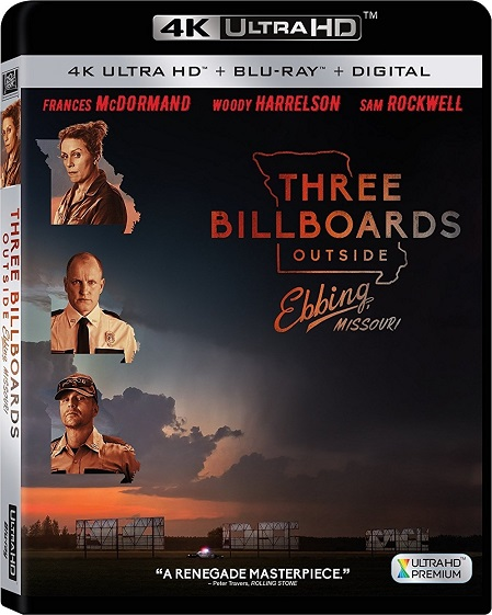 Three Billboards Outside Ebbing, Missouri 4K (Tres anuncios por un crimen 4K) (2017) 2160p 4K UltraHD HDR BluRay REMUX 46GB mkv Dual Audio DTS-HD 5.1 ch