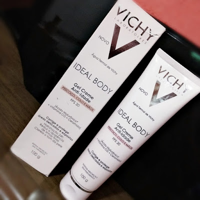 Vichy Ideal Body Gel Creme Antiidade