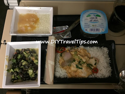 Photo of Ethihad Airways Nonya Chicken Meal Opened Up