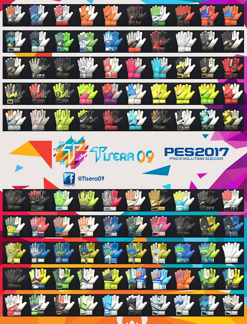 PES 2017 Glovepack v6 by Tisera09