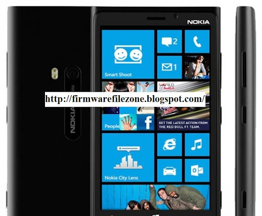 Nokia Lumia 920 RM 822 Flash File - FIRM WARE FILE ZONE