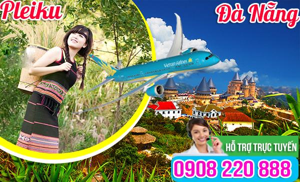 Giá vé máy bay Pleiku đi Đà Nẵng