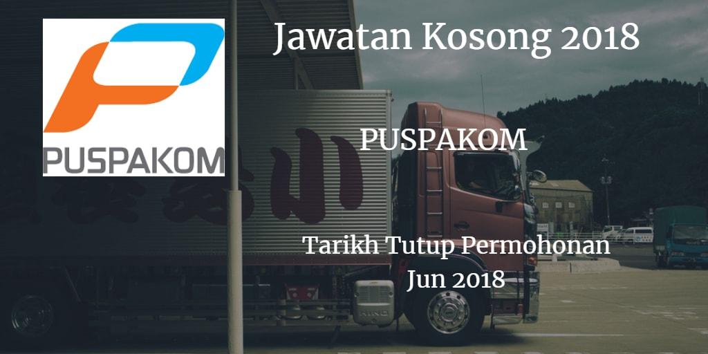 Jawatan Kosong PUSPAKOM Jun 2018