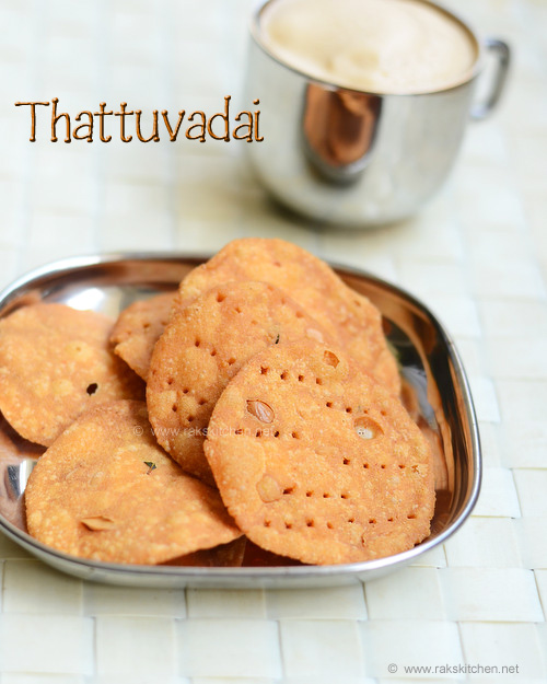 Thattai Recipe Rak S Kitchen