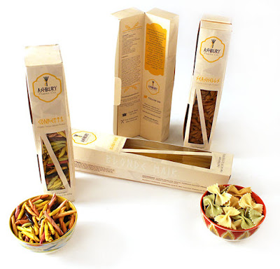 Ashbury Pasta Co Packaging by Sarah Sims