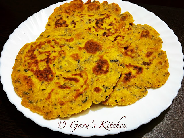 methi makka ka paratha recipe | methi makai paratha recipe