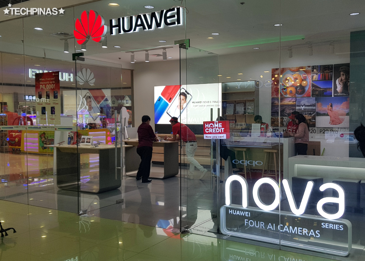 SM City Sucat, SM Cyberzone, Huawei Concept Store Philippines