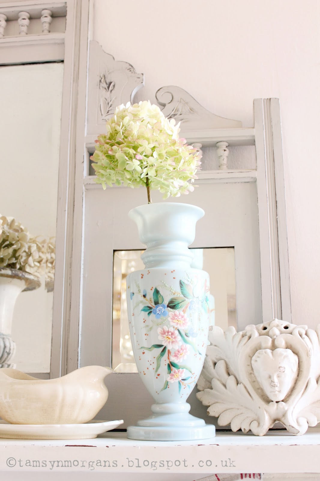 Hand-Painted Vintage Vase
