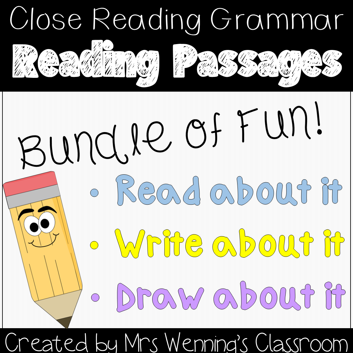 Lesson Plans Amp More By Mrs Wenning S Classroom Parts Of Speech Close Reading Grammar