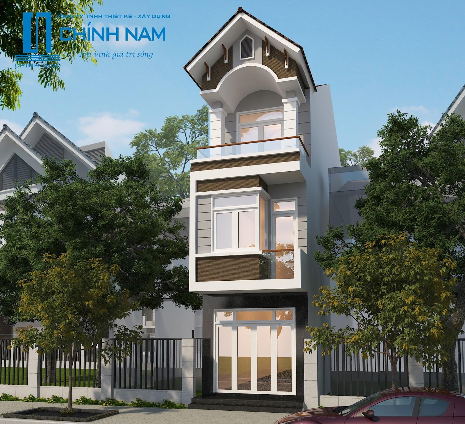 Thiết kế nhà anh Tùng ở Biên Hòa - Đồng Nai