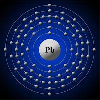 Kurşun atomu ve elektronları