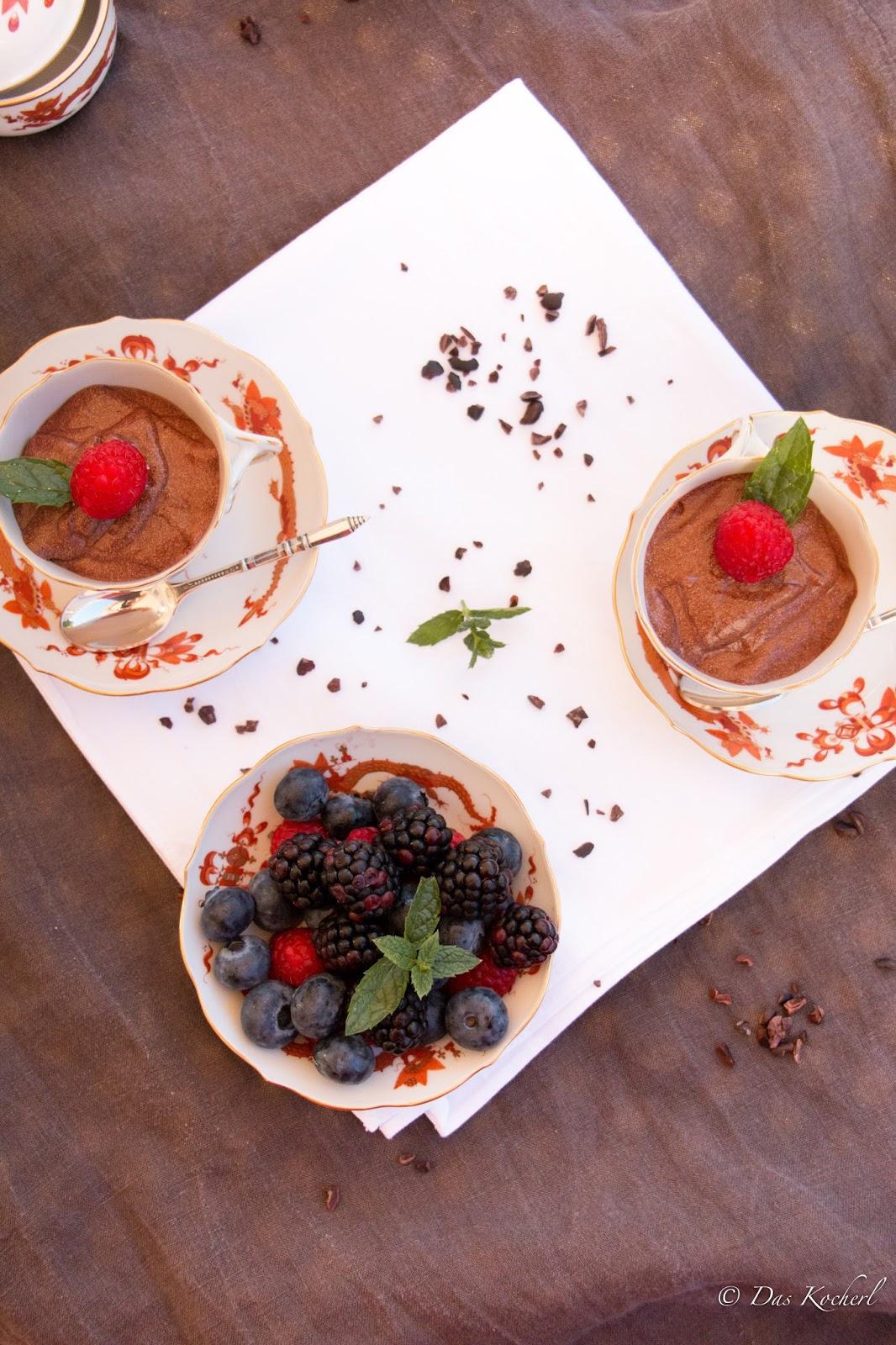 Mousse au Chocolat aus 2 Zutaten