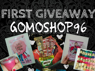 FIRST GIVEAWAY GOMOSHOP96
