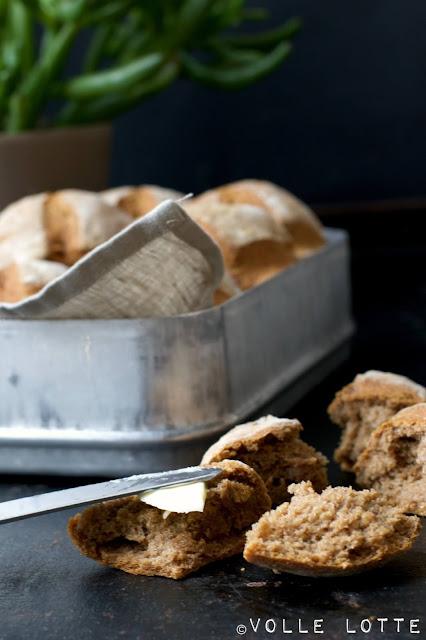backen, Brötchen, Sauerteig, einfach, Frühstück, lecker