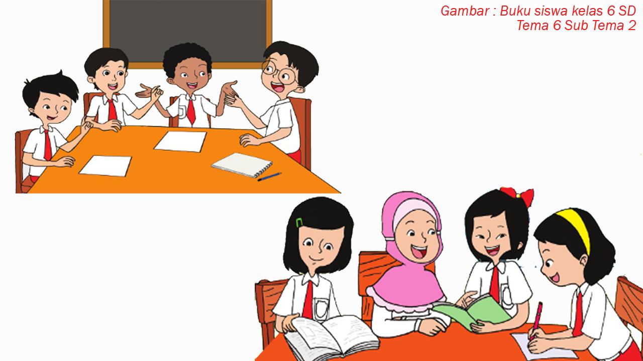 RPP Kelas 6 Tema 6 Subtema 2 Kurikulum 2013 Revisi 2018