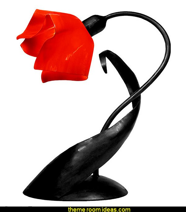Lazy Daisy Lamp, Fiery Red