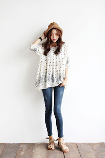 Fashion Korea skinny jeans
