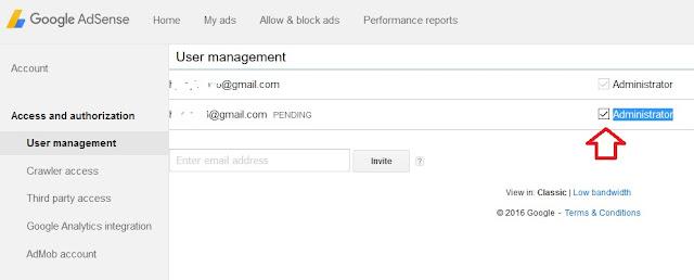 Cara Mengganti Menambahkan Atau Merubah Email Googel Adsense