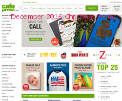 free CafePress coupons december 2016