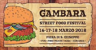 Street Food Festival 16-17-18 marzo Gambara (BS)