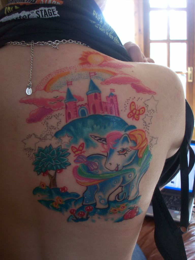 We Are All Wasted My Little Pony Tattoo