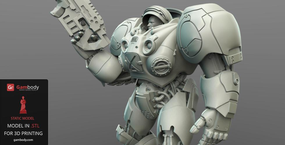 Terran Marine from StarCraft