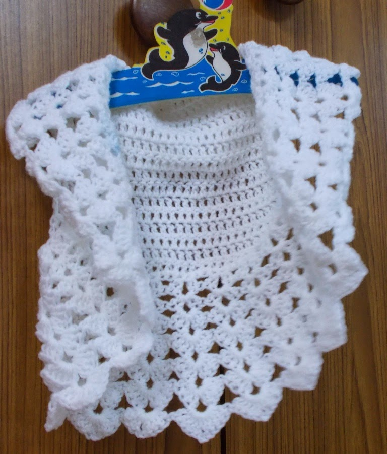 free crochet pattern for child bolero