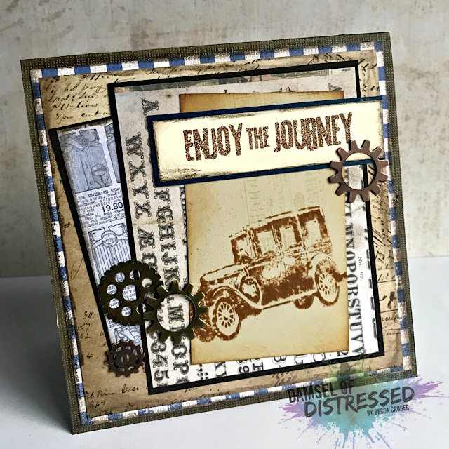 vintage_auto_card_tim_holtz_stamps