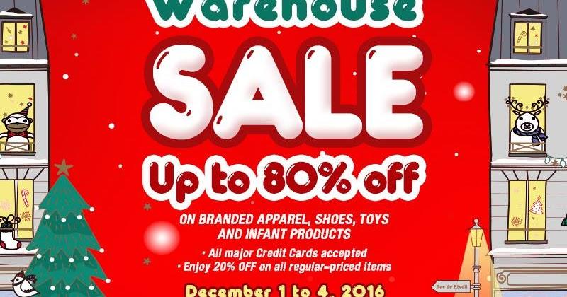 Manila shopper richwell christmas warehouse sale dec 2016 for Christmas decs sale