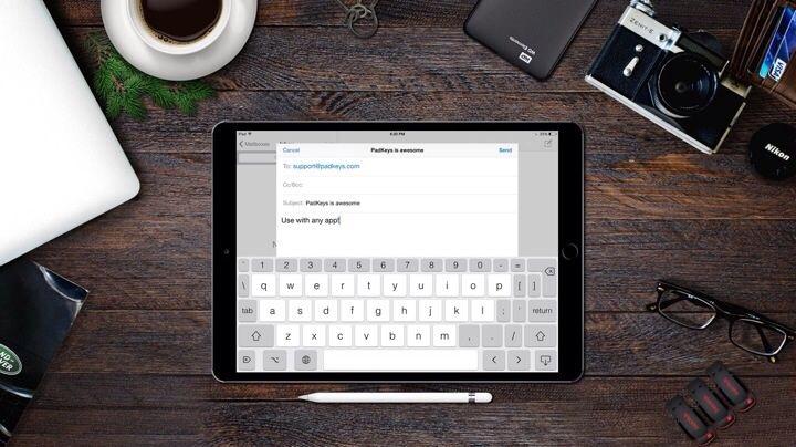 Custom Keyboard iPad