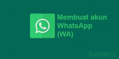 Cara mudah membuat akun whatsapp di android dan iphone