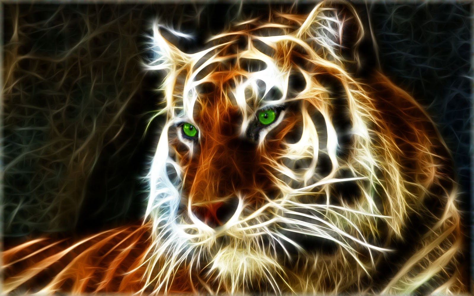 Tigre 3d 1920x1080 fonds d 39 cran hd for Wallpaper pour ordinateur