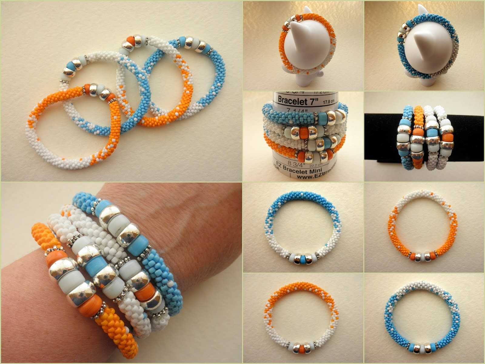 how to make bangles with beads