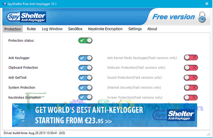 SpyShelter Anti-Keylogger 10.8.6 Latest Version