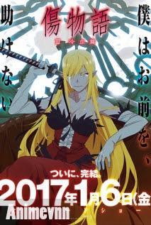 Kizumonogatari III: Reiketsu-hen -  2017 Poster